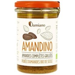 Amandino Purée d'Amandes Grillées Bio - 275g - Damiano