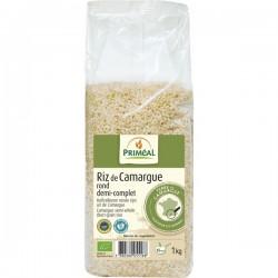 Riz Rond Demi-complet de Camargue 1kg-Priméal