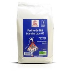 Farine de Blé blanche Type 65, Celnat, 1kg