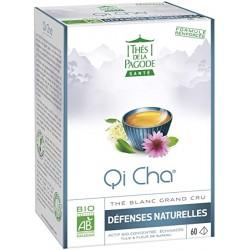 Qi Cha Protect Thé blanc - 60 Infusettes - Thés de la Pagode