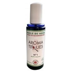 Aroma-Tiques n°1 Huile de Neem Bio - 100ml - Vecteur Energy