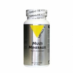 Multi Minéraux -- 80 Comprimés - Vit'All+