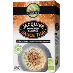 Jacquier Morceaux Cuisiné Bio Sauce Thai - 200g - Écoidées