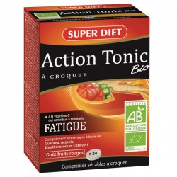 Action Tonic Bio - 24 Comprimés - SuperDiet