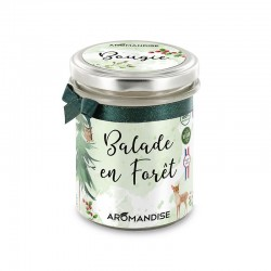 Bougie Balade en Forêt - 150g - Aromandise