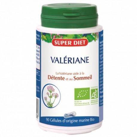 Valériane Bio- Détente et Sommeil - 90 Gélules - SuperDiet