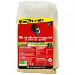 Riz Jamsin 1/2 complet - 2kg - Autour du riz
