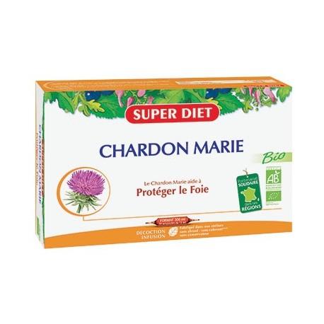 Chardon Marie Bio - Ampoules -SuperDiet
