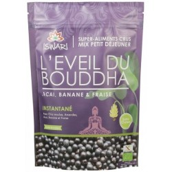 Eveil du Bouddha Açaï, Banane et Fraise - 360g - Iswari