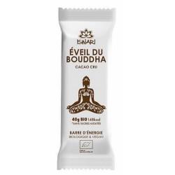 Barre d'Energie Eveil du bouddha Cacao Cru Bio - 40g - Iswari