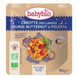 Sachet Carotte Butternut & Polenta - 190g - Babybio