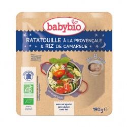 Sachet Ratatouille Provençale & Riz - 190g - Babybio