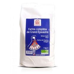 Farine Complète de Grand Epeautre, Celnat, 1kg