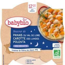 Assiette Panais Carotte Polenta - 230g - Babybio