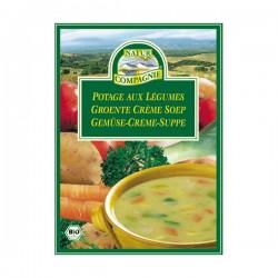 Soupe de Légumes en sachet 60g-Natur Compagnie