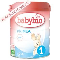 Primea 1 Lait Bio 0 à 6 Mois - 800g - Babybio