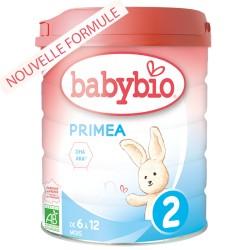 Primea 2 Lait Bio 6 à 12 Mois - 800g - Babybio