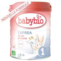 Caprea 1 Lait de Chèvre Bio 0 à 6 Mois - 800g - Babybio