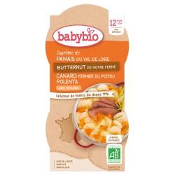 Bol Panais Butternut Canard Polenta - 2x200g - Babybio