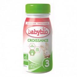 Lait Croissance Liquide - 25cl - Babybio