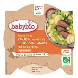 Assiette Panais Petits Pois Canard - 260g - Babybio