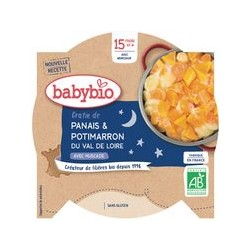 Assiette Gratin Panais Potimarron - 260g - Babybio