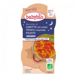 Bol Carotte Tomate Polenta - 2x200g - Babybio