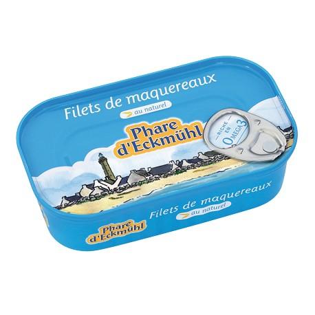 Filets de Maquereaux 130g -Phare d'Eckmühl