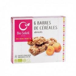 Barres de Céréales Abricots x6 - 125g - Biosoleil