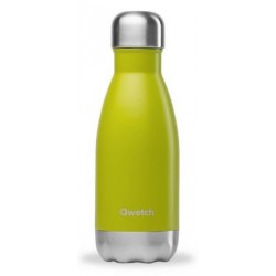 Bouteille Nomade Isotherme - Vert Anis - 260ml - Qwetch