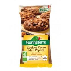 Cookies Cacao Maxi Pépites - 185g - Bonneterre