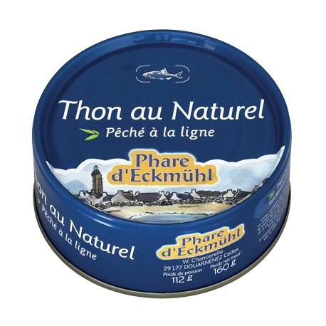 Thon au Naturel 160g -Phare d'Eckmühl