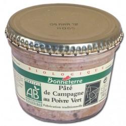 Pâté de Campagne au Poivre Vert 190g -Bonneterre