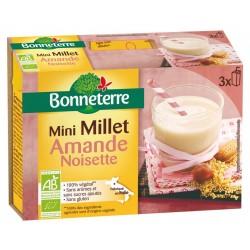 Mini Millet Amande Noisette - 3x20cl - Bonneterre