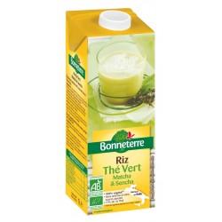Boisson Riz Thé Vert - 1L - Bonneterre