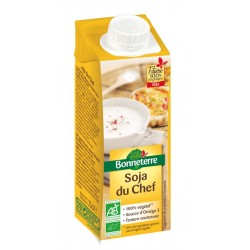 Crème Soja Du Chef - 25cl - Bonneterre