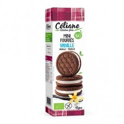Mini Biscuits Fourrés Vanille - 125g - Céliane