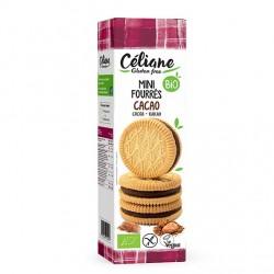 Mini Biscuit Fourrés Cacao - 125g - Céliane