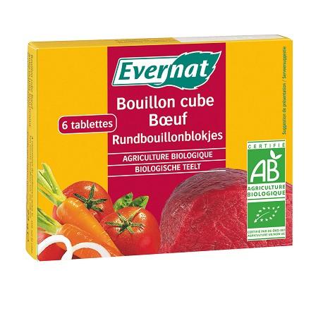 Bouillon Cube Boeuf 72g-Evernat