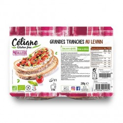 Grandes Tranches au Levain - 280gr - Céliane Gluten Free