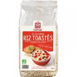 Flocons Riz Toastes - 500g - Celnat
