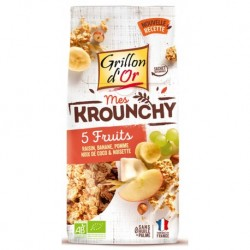 Krounchy 5 Fruits - 500g - Grillon d'Or
