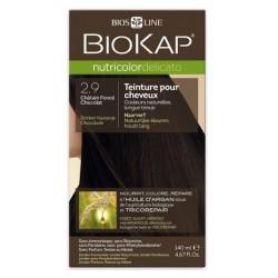 Teinture pour Cheveux 2.9 Châtain Foncé Chocolat - 140ml - Biokap