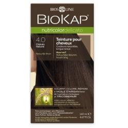 Teinture pour Cheveux 4.0 Châtain Naturel - 140ml - Biokap