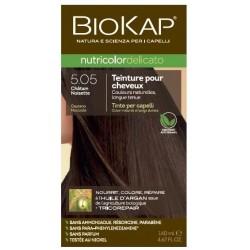 Teinture pour Cheveux 5.05 Châtain Noisette - 140ml - Biokap