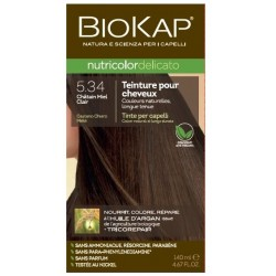 Teinture pour Cheveux 5.34 Châtain Miel Clair - 140ml - Biokap