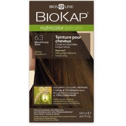 Teinture pour Cheveux 6.3 Blond Foncé Doré - 140ml - Biokap