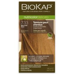 Teinture pour Cheveux 7.33 Blond Blé Doré - 140ml - Biokap