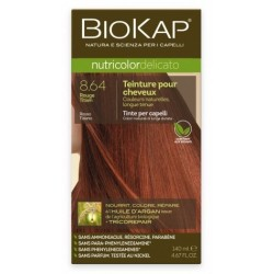 Teinture pour Cheveux 8.64 Titian Rouge - 140ml - Biokap