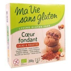 Coeur Fondant Cacao & Noisette - 200g - Ma Vie Sans Gluten